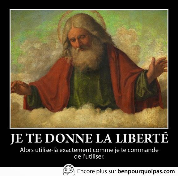 dieu et la liberté