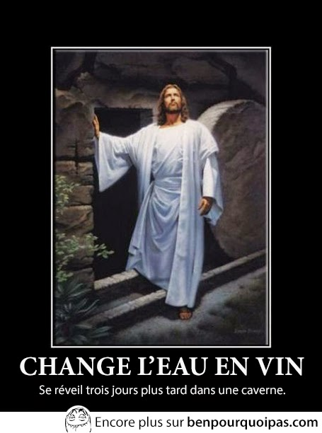 Jesus savait faire le party
