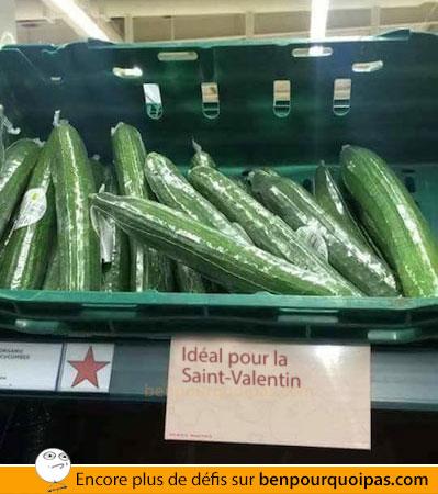 ben-pourquoi-pas-Concombre... idéal pour la Saint-Valentin!?