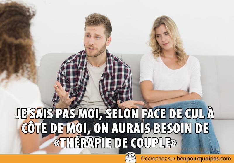 Ben pourquoi pas - thérapie de couple