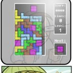 Tetris… a chaque fois!!