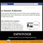 Espionner sur Facebook…