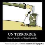 Définition d'un terroriste