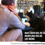 Je sais qu'un divorce c'est pas facile…