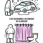 La seule chose pire que la pluie après avoir lavé sa voiture