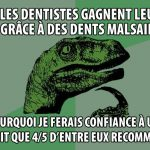 Philosoraptor, les dentistes