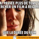 Pires problèmes du monde: choisir un film