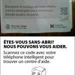 Sans abri? Utilise ton téléphone intelligent pour trouver de l'aide!