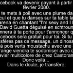Facebook va devenir payant en 2080!!