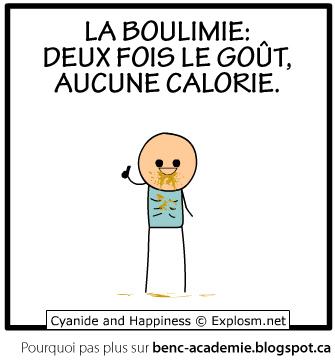 Cyanide & Happiness en français: Boulimie