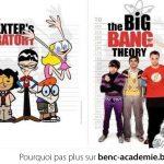 Un clin d'œil pour souhaiter la bienvenu à Big Bang Theory à Vrac TV