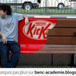 Une pub KitKat bien pensée