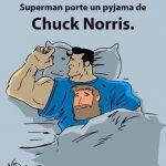Le pyjama de Superman…
