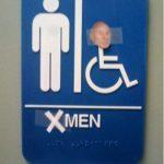 Toilettes, maintenant pour x-men