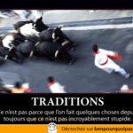 Lâchée de taureaux, une tradition stupide!