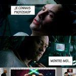 Neo connais Photoshop (Matrix)