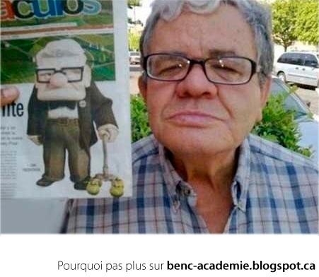 Le vieil homme de La-Haut dans la vrai vie