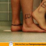 Tattoo de couple, les pièces ne vont pas ensemble!