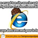 Internet Explorer le salaud