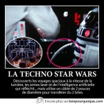 La techno incohérente de Star Wars
