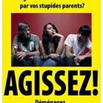 Les ados, fatigués de vous faire écœurer par vos stupides parents?