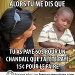 Africain sceptique un chandail à 60$