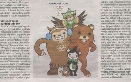 Pedo bear Vancouvert 2010