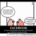 Facebook, vous etes le produit vendu