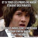 Et si les profs de math sont des pirates?