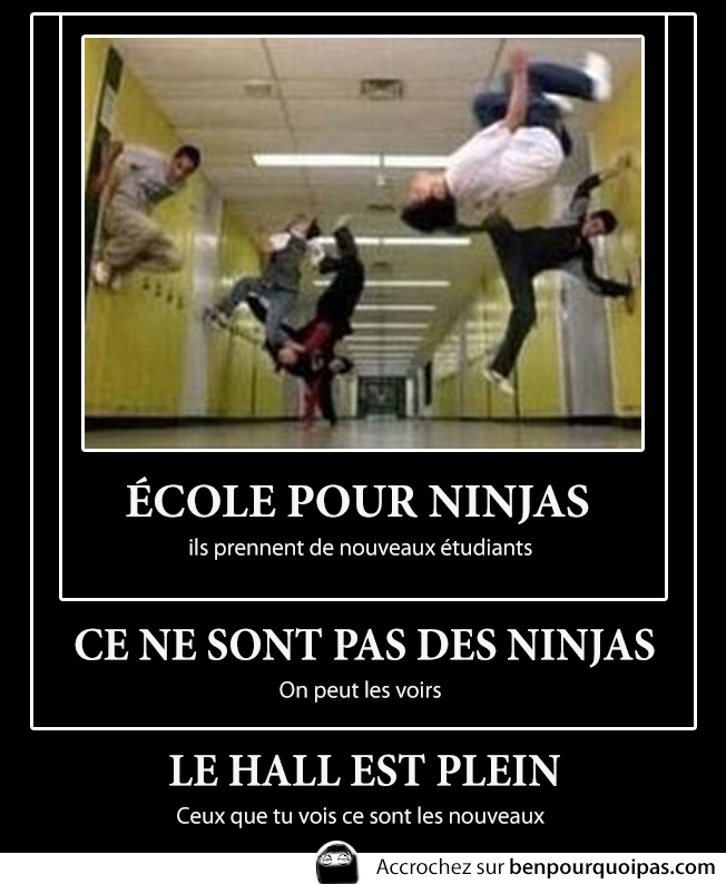 Demotivation-ecole-ninja