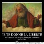 Le concept de la liberté selon la religion