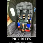Avoir ses priorités bien en ordre