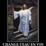 Jesus savait comment faire le party!