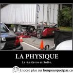 Loi de la physique: toute résistance est futile