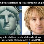 Mona Lisa ressemble à Brad Pitt