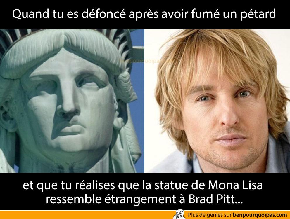 ben-pourquoi-pas-Mona Lisa ressemble étrangement à Brad Pitt.