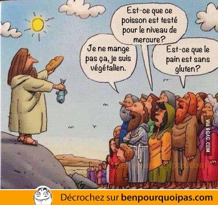 ben pourquoi pas - Jesus et la multiplication des pains... aujourd'hui!