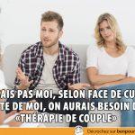 Thérapie de couple, vraiment!?