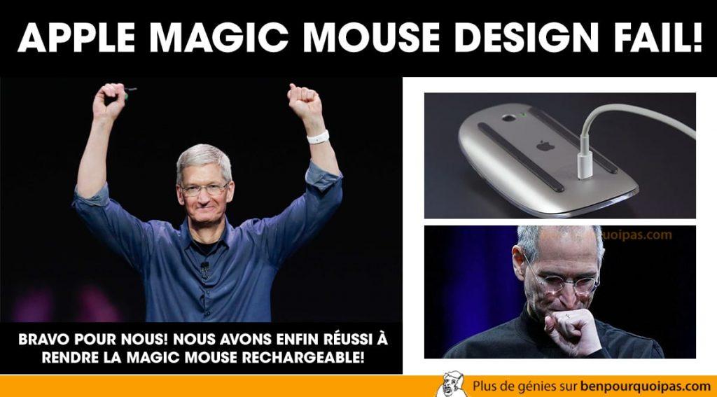 Apple Magic Mouse fail