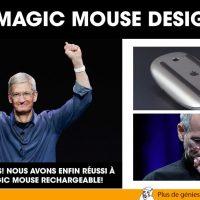 Apple Magic Mouse Design Fail... Beau travail Tim Cook!!!