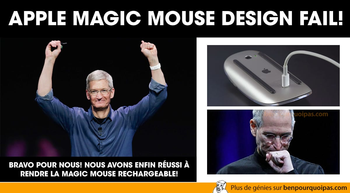 Apple Magic Mouse fail