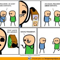 Regarde les photos de mes enfants | Cyanide and Happiness