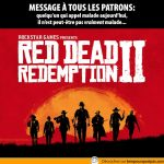 Red Dead Redemption 2… si un collègue appel malade aujourd'hui, il est peut-être pas vraiment malade…