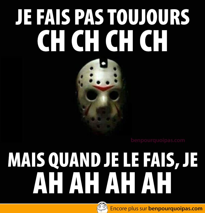 Jason à l'halloween... ch ch ch ch
