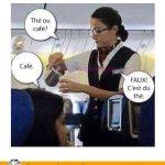 Le service maintenant dans les avions