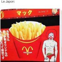 Des culottes McDonald's... merci au Japon!