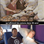 Wow, imagine de quoi auront l'air des avions dans 50 ans