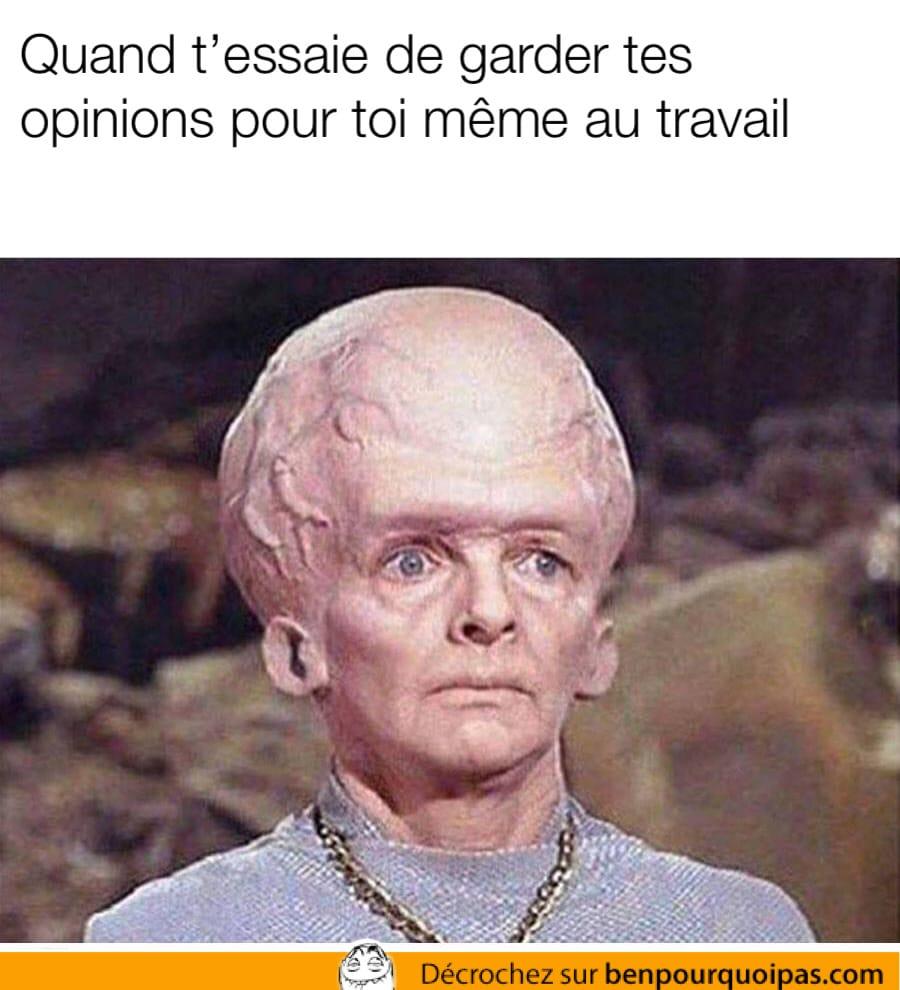 Un alien qui a un cerveau énorme