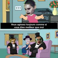 Le Joker de Jared Leto se plaint que les autres Jokers le regardent de haut