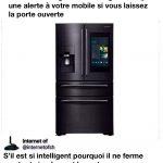 Samsung annonce un frigo intelligent… mais l'est-il vraiment?